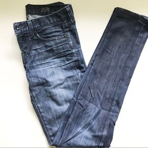 J.Crew Dark Indigo Blue Toothpick Denim Jeans